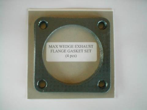 Max Wedge Square Exhaust Flange Gaskets (4 Pieces)