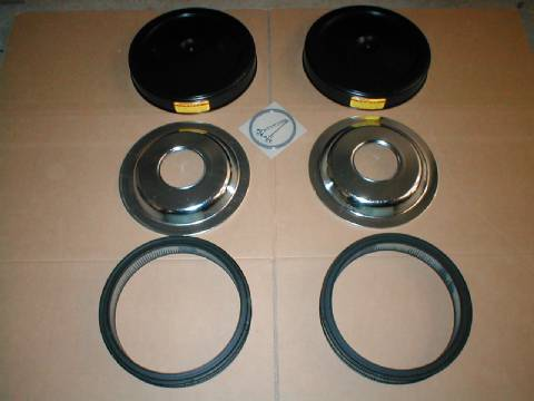 Air Cleaner Kits w/Paper Filters (3447 or 3705)